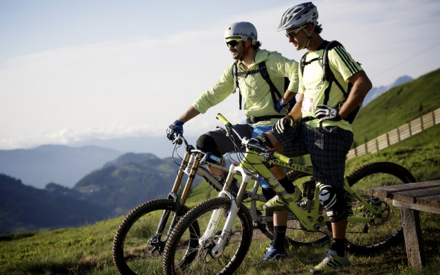 Mountainbiken in Hinterglemm